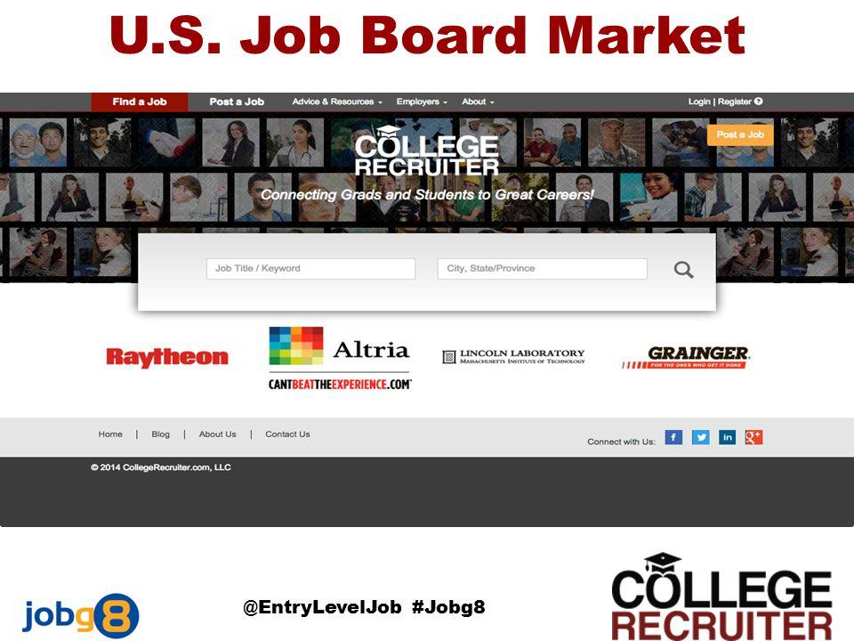 U.S. Job Board Market @EntryLevelJob #Jobg8