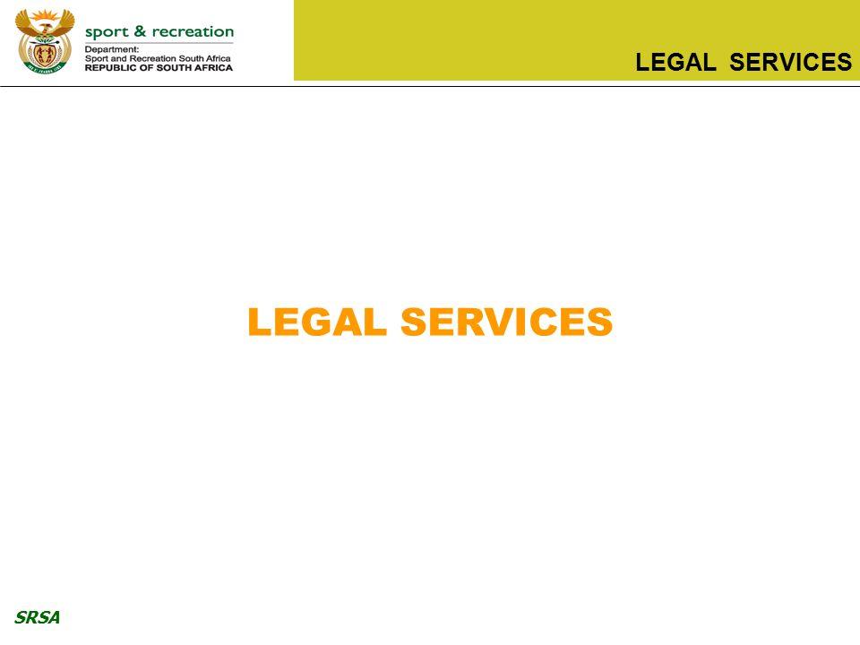SRSA LEGAL SERVICES