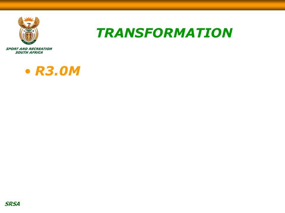 SRSA TRANSFORMATION R3.0M