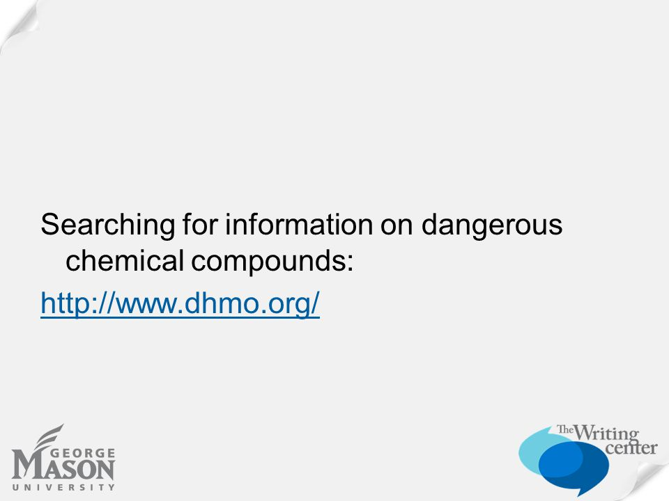 Searching for information on dangerous chemical compounds: http://www.dhmo.org/