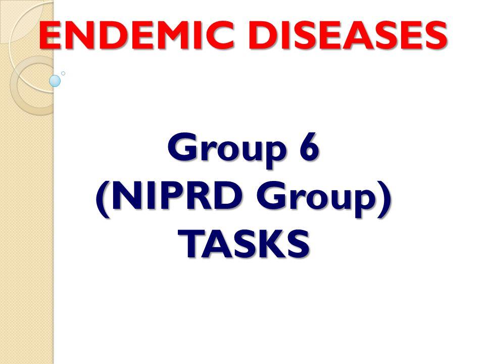 WHAT IS ENDEMIC DISEASES.