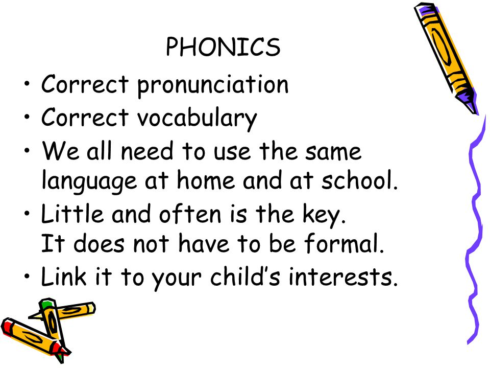 Phonics Scheme At St Nics, we teach the Letters and Sounds programme using Phonic Bug and Jolly Phonics resources across Key Stage 1 and the EYFS. In