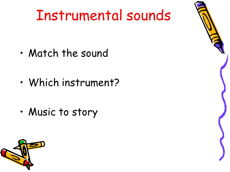 Environmental Sounds Listening walks (indoors and outdoors) Drumming outdoors Sound lotto Singing phonics