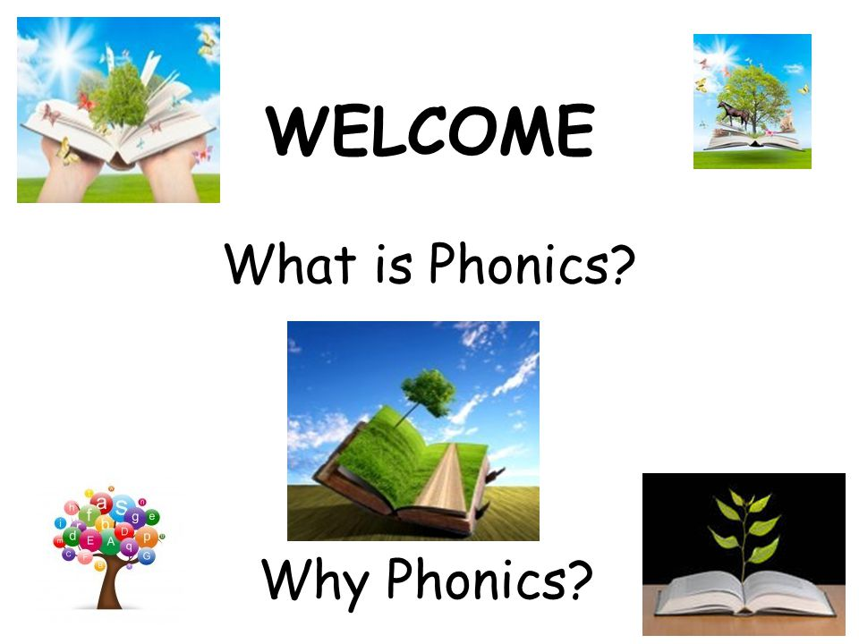 WELCOME What is Phonics? Why Phonics?