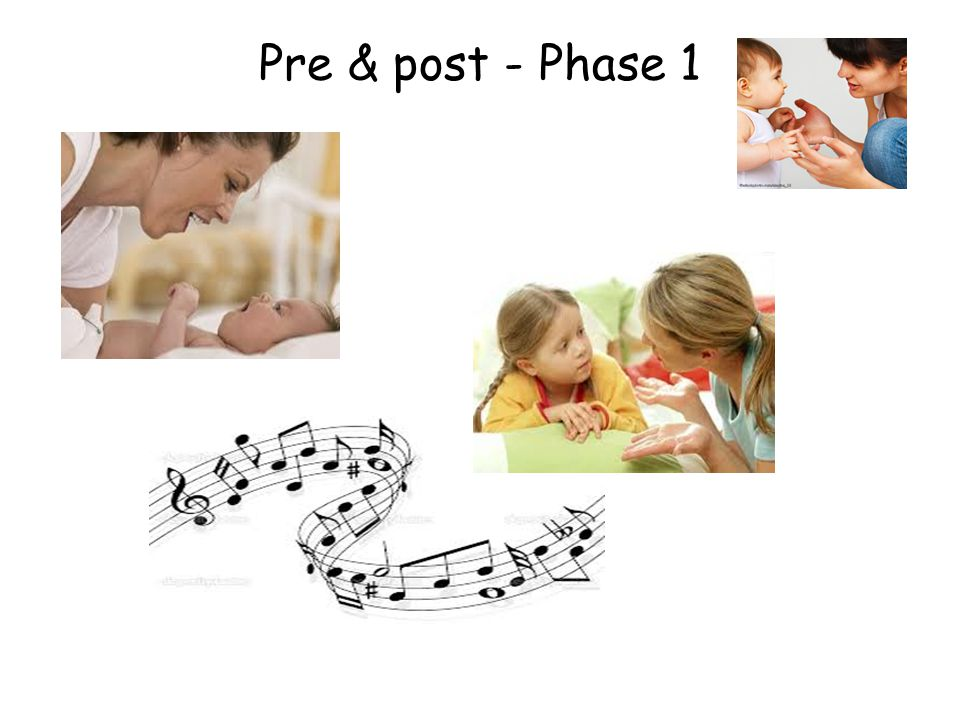 Pre & post - Phase 1