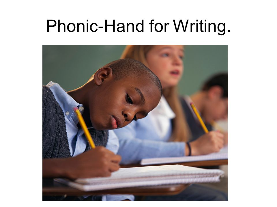 Phonic-Hand for Writing.