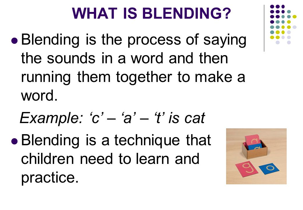 Children can be helped in understanding the formation with specific instructions.