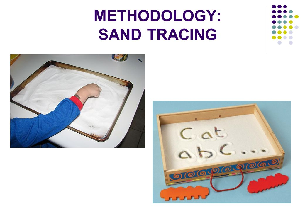 METHODOLOGY: SAND TRACING