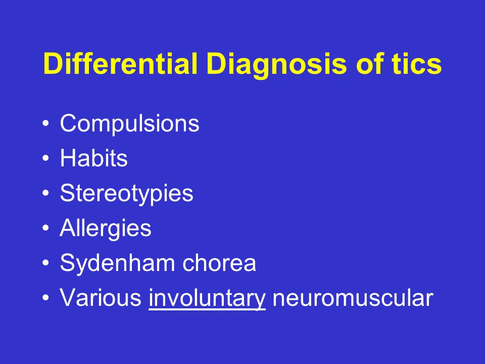 Brain Regions in TS With permission, NIMH