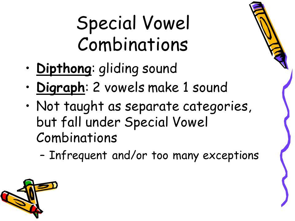 Special Vowel Combos