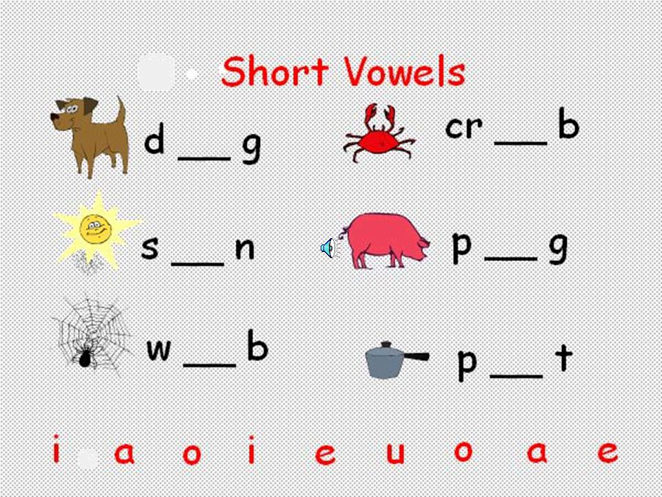 Short Vowels How to teach? –Direct practice –Connected Text Reading Decodable books Reading A-Z
