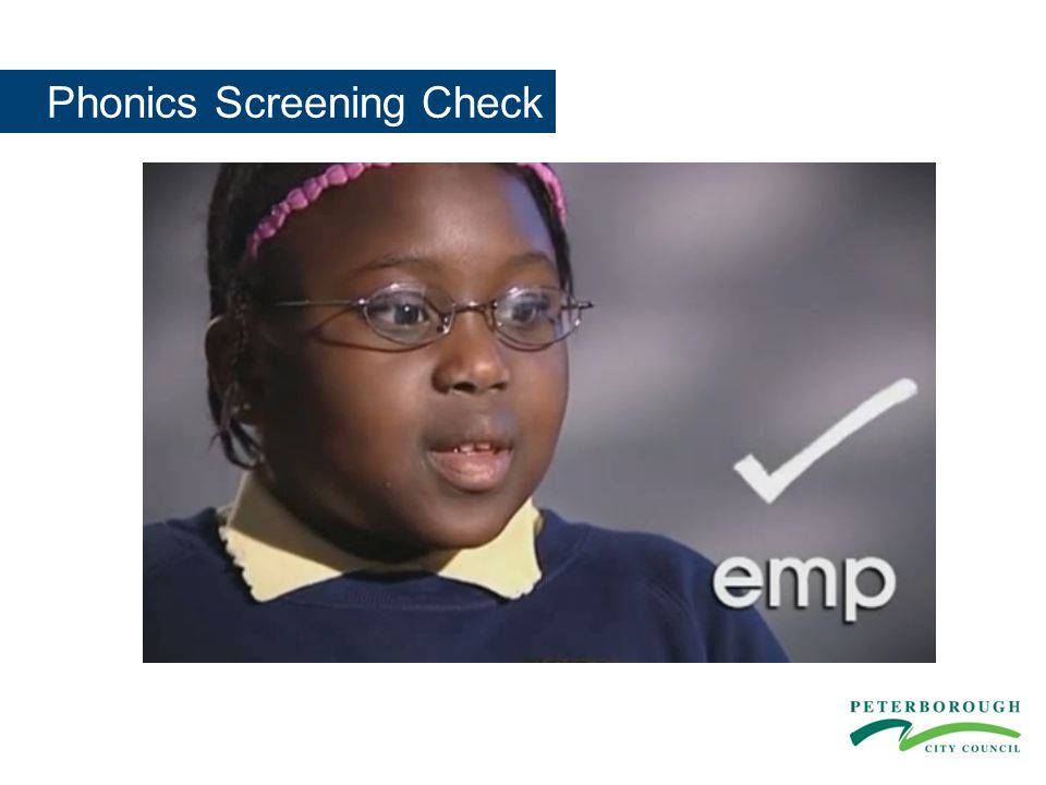 Phonics Screening Check