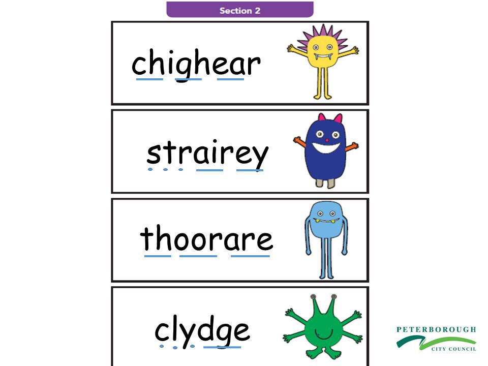 Children working at Phase 4 Can blend adjacent consonants in words for reading, e.g.