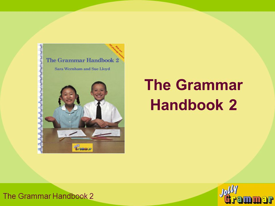 The Grammar Handbook 2