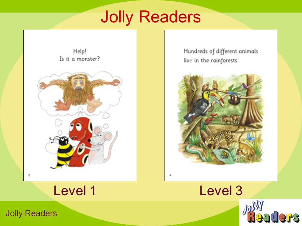 Jolly Readers Level 3Level 1