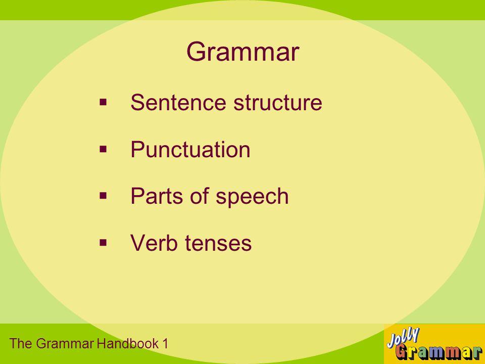 Grammar lesson format 1) Introduction 2) Main activity 3) Grammar sheet 4) Extension activity 5) Rounding off The Grammar Handbook 1
