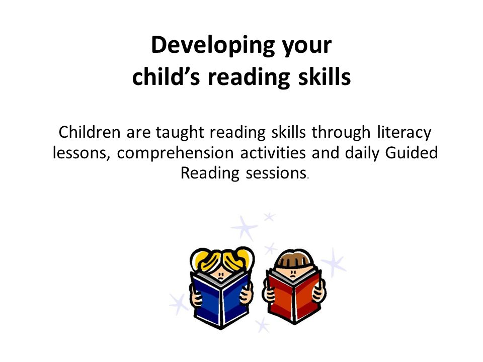 Children are taught reading skills through literacy lessons, comprehension activities and daily Guided Reading sessions.
