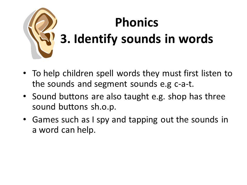 Phonics 3.
