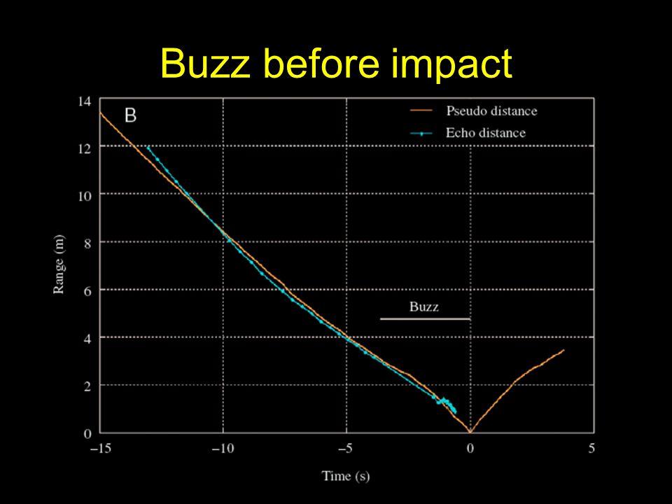 Buzz before impact