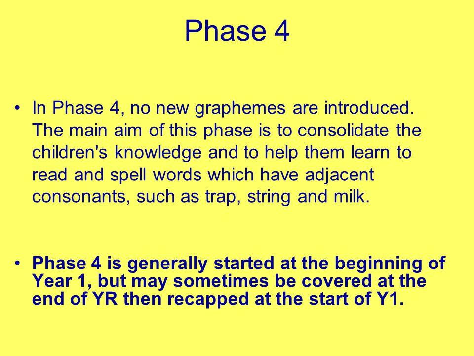 Phase 4 and Phase 5