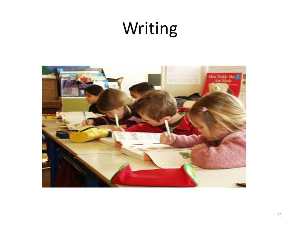 Writing 71
