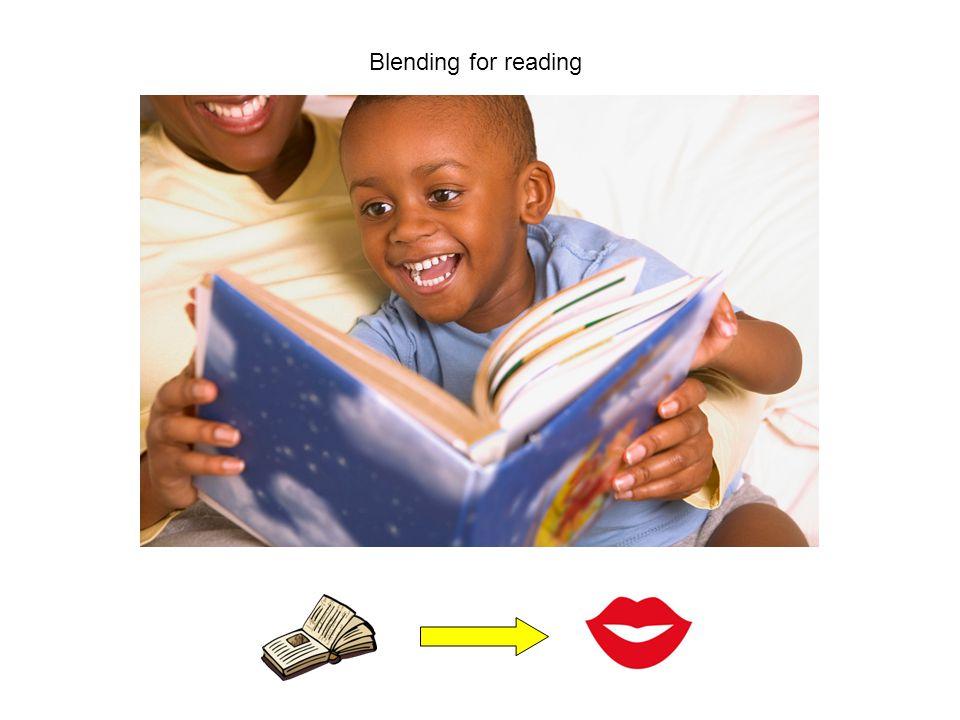Blending for reading