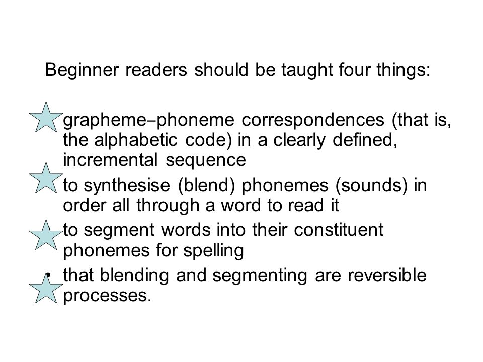 Systematic phonics refers to phonics teaching which is done regularly, discretely, explicitly and in an agreed and rational sequence.