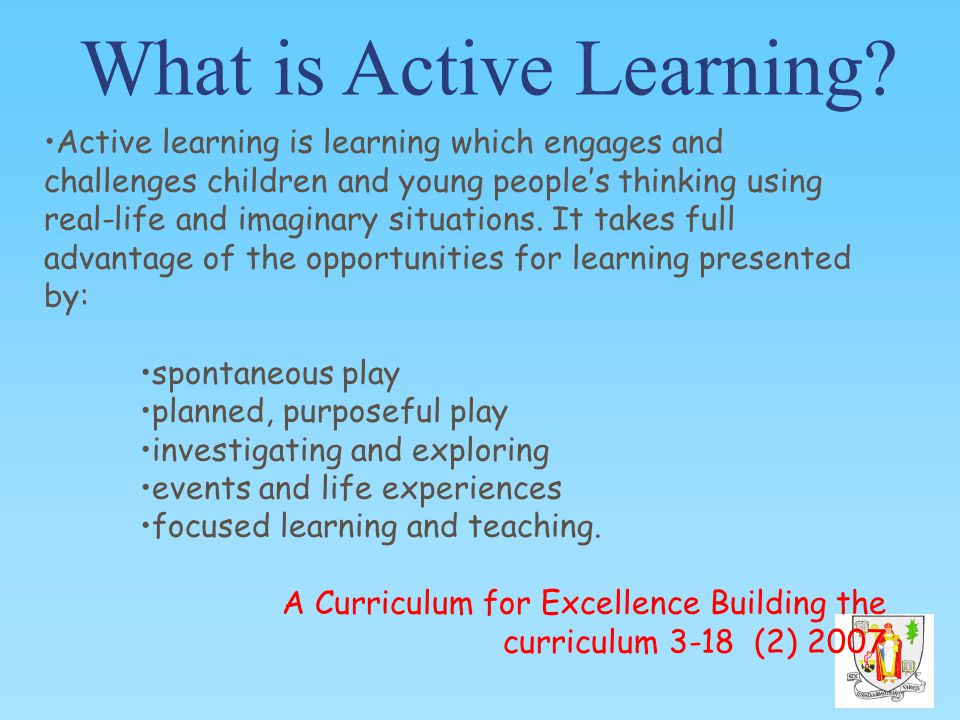 What is Active Learning.