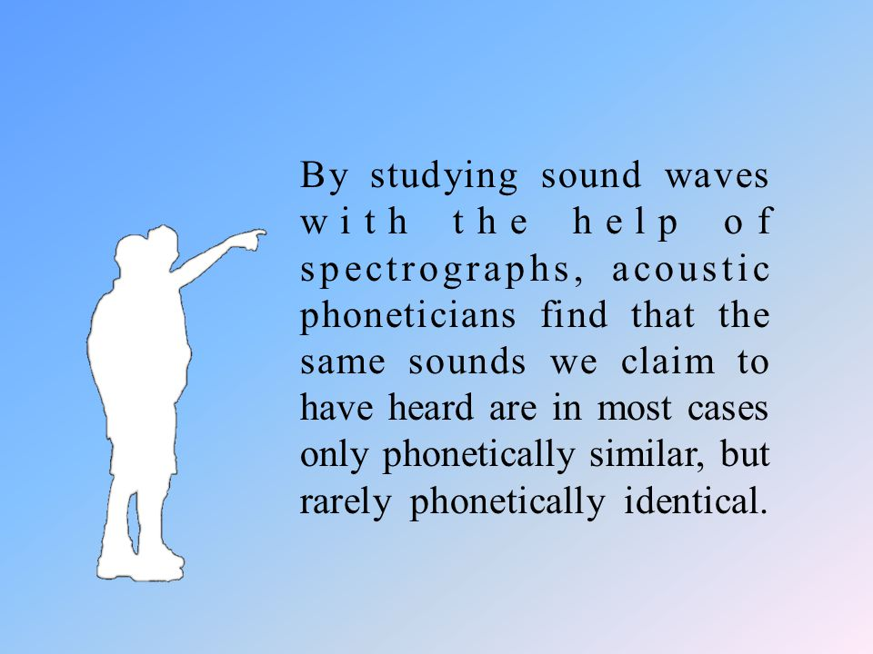 From the way sounds travel:how sounds travel by looking at the sound saves, the physical means by which sounds are transmitted through the air from on