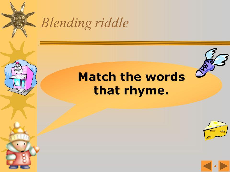 Which blend? pl fr tr st br gr sm st tr fr gr sm flower grape smile