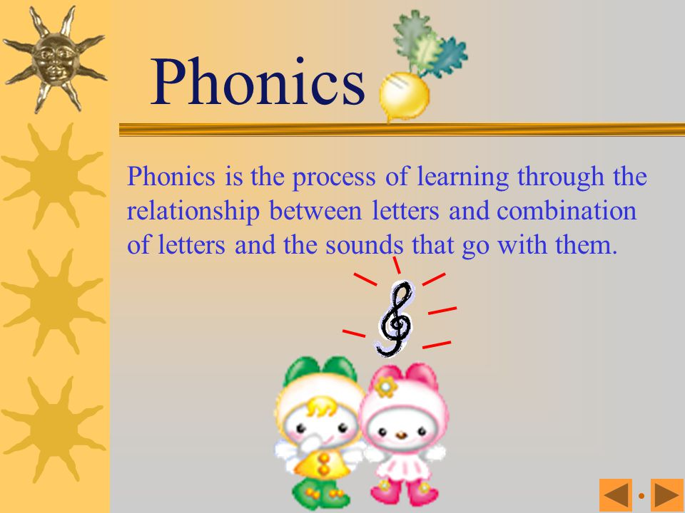 LessonOne Lesson One Introduction to Phonics Phonics