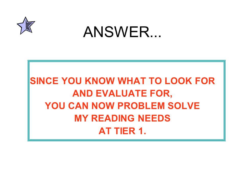 ANSWER...