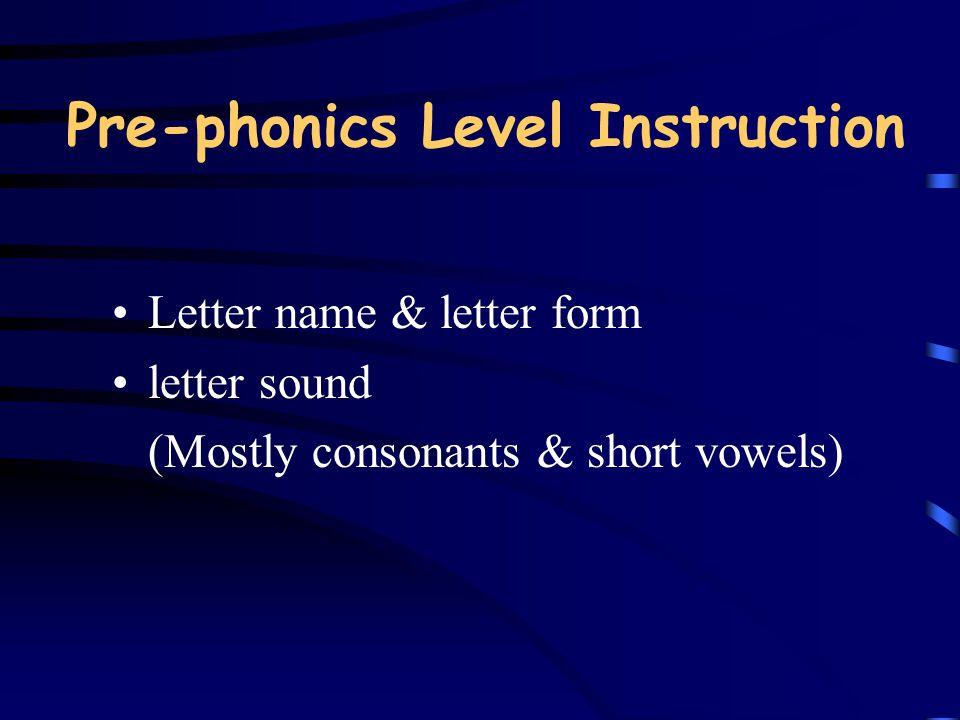 Effective Phonics Instruction 4.
