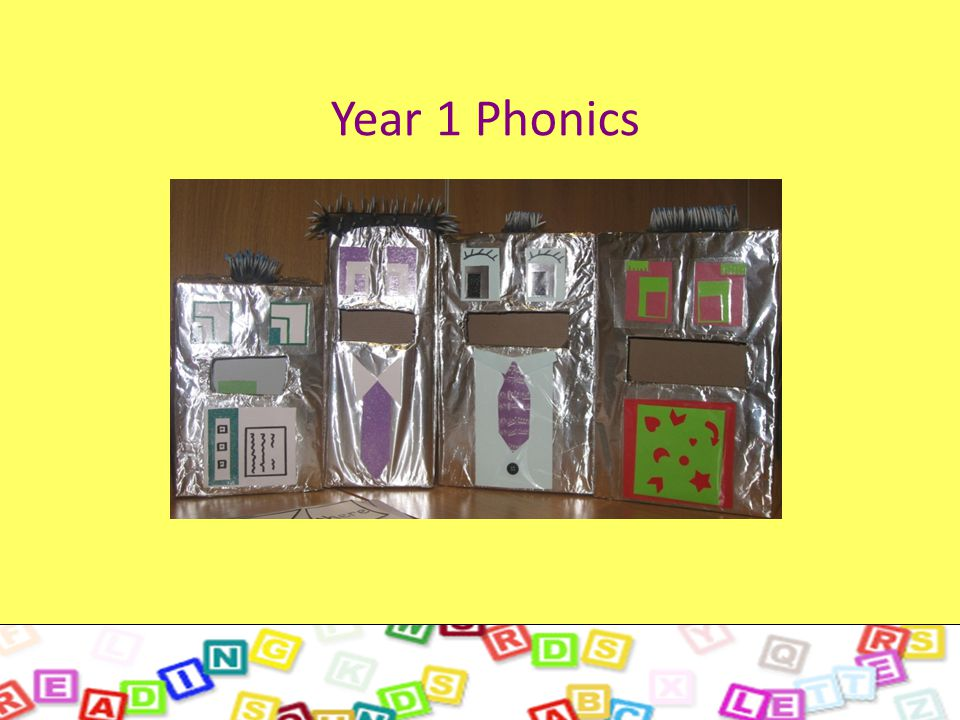 All about Phase 5. Year 1 Phonics