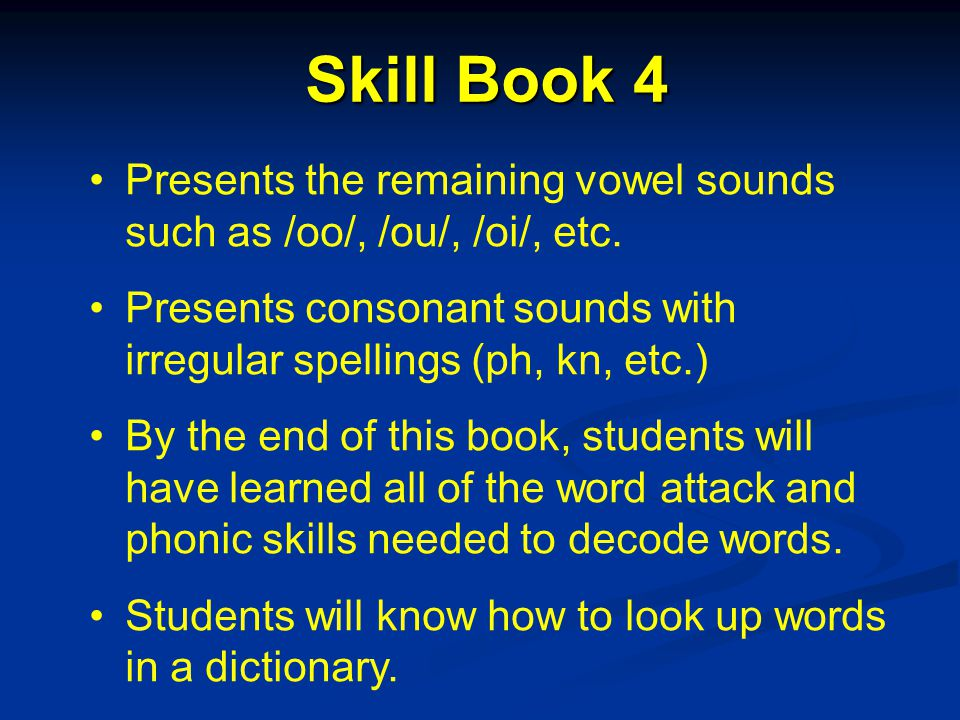 Skill Book 3 Supplementary Readers: Changes More Stories 3 Laubach Way to Cursive Writing Workbook for Student Focus on Phonics-3 Long Vowel Sounds Five Dog Night The Many Ears of CB Radio Crossword Puzzles Skill Book 1 Skill Book 2 Skill Book 3