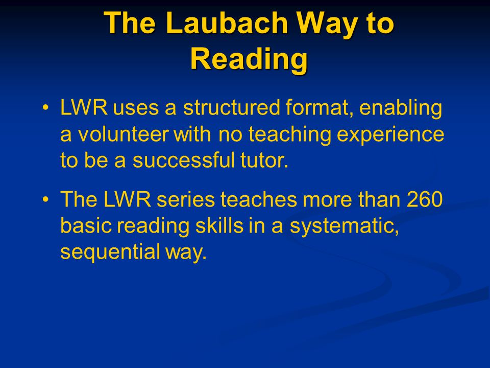 Introduction Learning to read is like climbing a ladder.