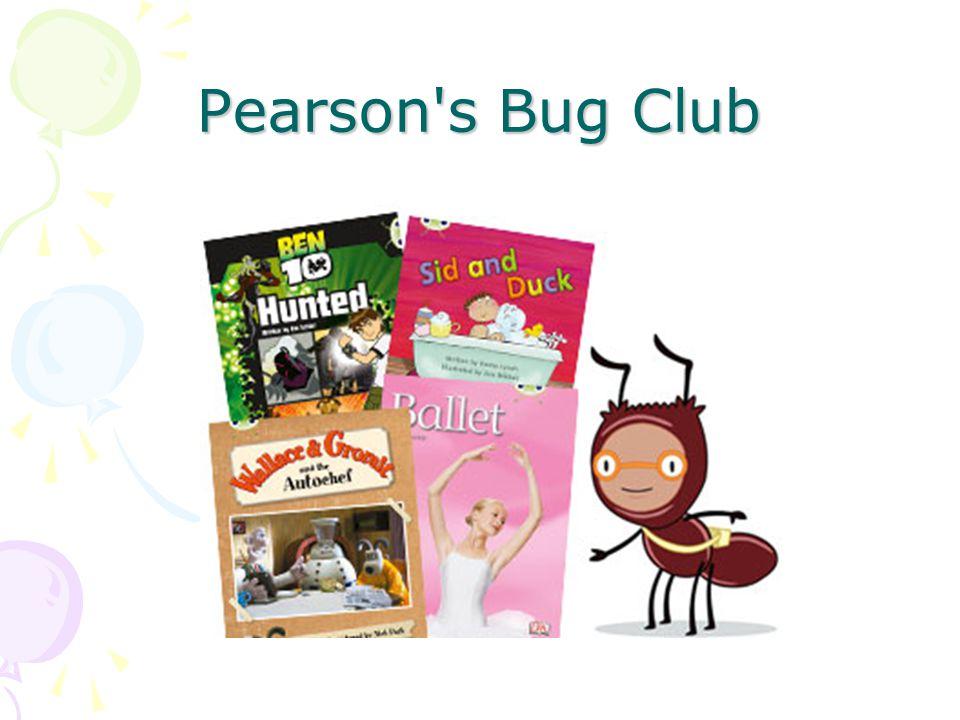 Pearson's Bug Club