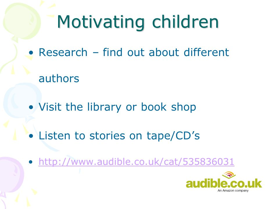 How do children learn to read.