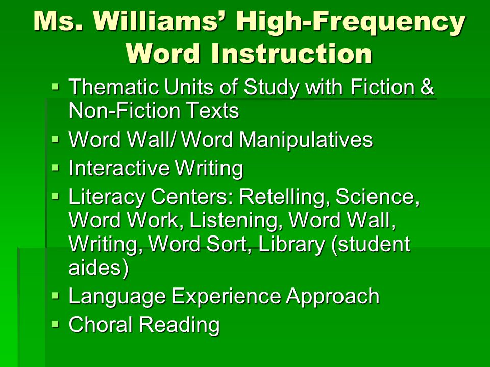 Goals in teaching students to read and write  Word Recognition: the quick and easy pronunciation or pronunciation or spelling of a spelling of a familiar familiar word word  Word Identification: the ability to figure out the pronunciation or spelling of an unfamiliar word using a strategy such as syllabic analysis the ability to figure out the pronunciation or spelling of an unfamiliar word using a strategy such as syllabic analysis