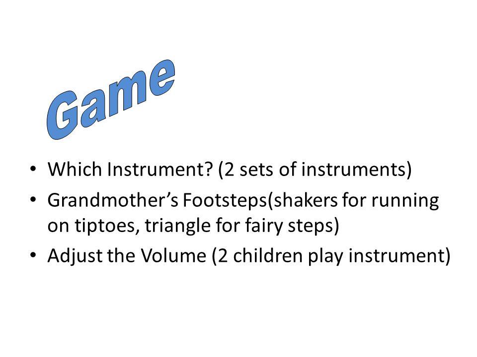Which Instrument.