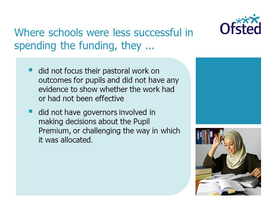  did not focus their pastoral work on outcomes for pupils and did not have any evidence to show whether the work had or had not been effective  did