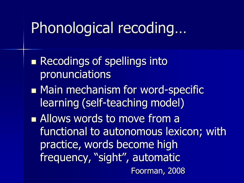Phonemic Awareness & Phonics (Post NRP)  Research indicates that when instruction in phonemic awareness is quickly paired with phonics instruction involving letters, it strengthens both the students' phonological awareness skills as well as their knowledge of the alphabetic principle.