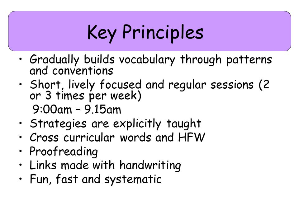 Objectives 6 objectives to be covered each year 2 objectives each term 1 objective each half term Plus misconceptions and errors