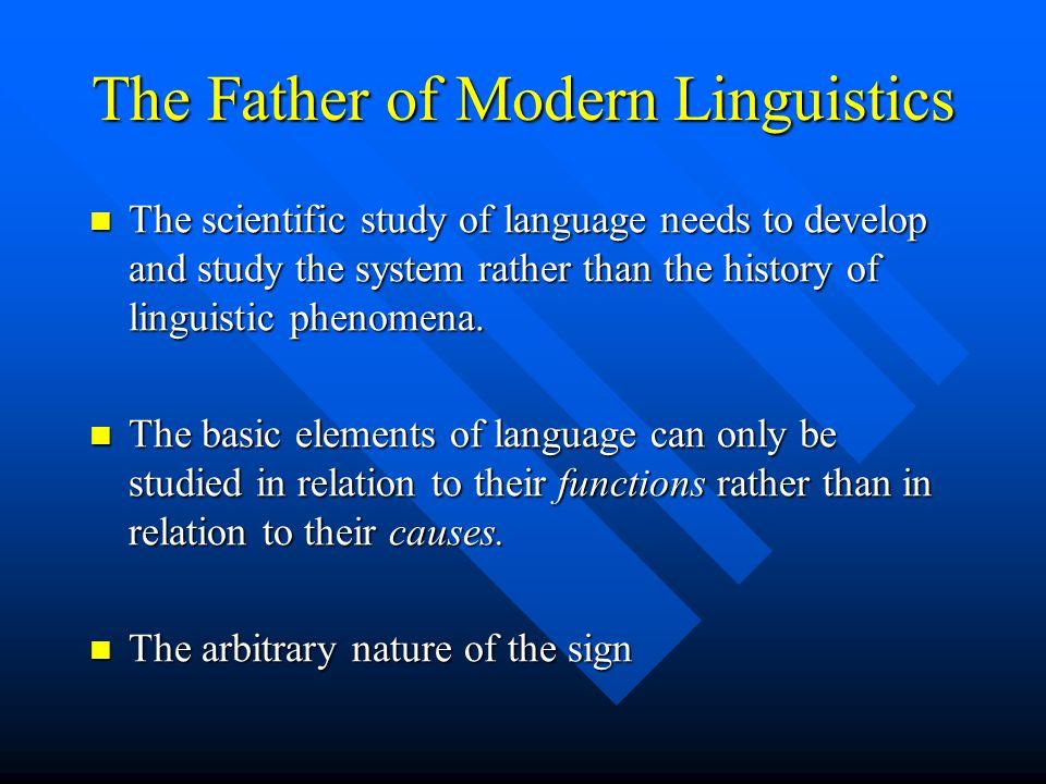 Ferdinand de Saussure 1857-1913 Cours de Linguistique Generale