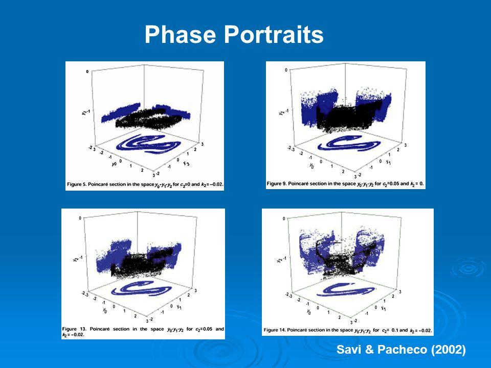 Phase Portraits Savi & Pacheco (2002)