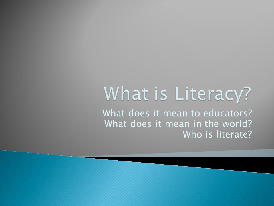  We know that not all students with disorders that impact literacy are not clearly identified.