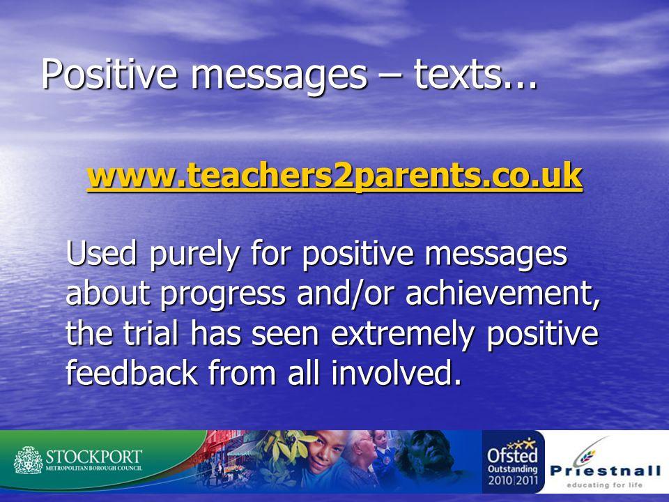 Positive messages – texts...
