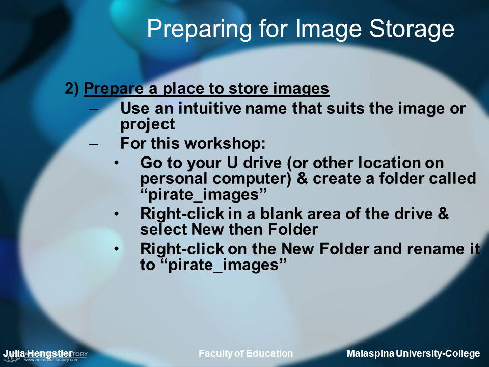 Finding Images 3) Search for necessary images (This has been done for you, but if you had to do it here are the steps) –Determine a sufficient number of images (eg.