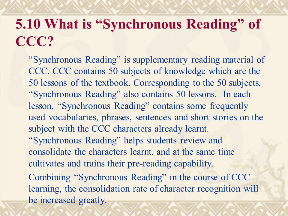 """5.9 What is the difference between CCC and """"Three Character Verse"""" ? """"Three Character Verse"""