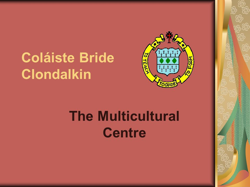 Coláiste Bride Clondalkin The Multicultural Centre